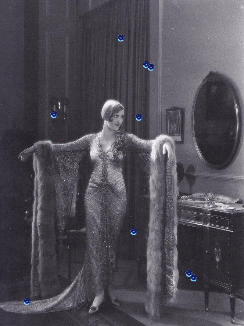 1920s beaded dress, Adrian