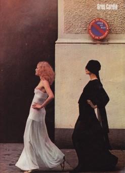 Helmut Newton, Cardin Gres, 1971 Harper's & Queen