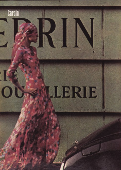 Helmut Newton, Cardin, Harper's & Queen
