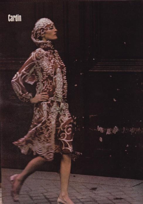 Helmut Newton, 1971 Harper's & Queen, Cardin