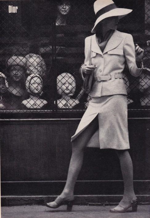 Helmut Newton, 1971 Harper's & Queen, Dior