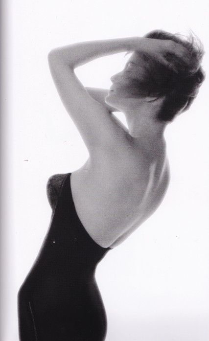 Lillian Bassman, black basque