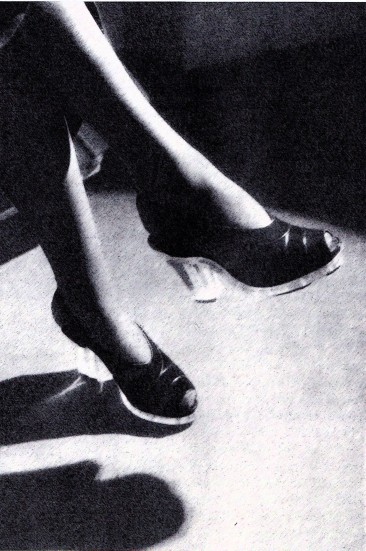 1940's Perspex Shoes, Italy