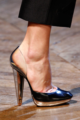 Perspex Heels, Yves St Laurent, Fall 2012