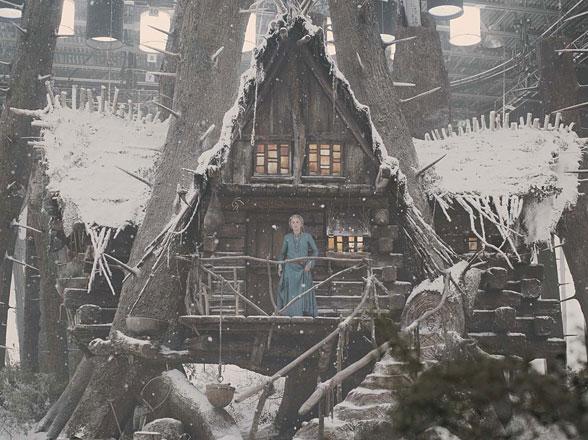 Red RIding Hood Film, setting, grandma's house