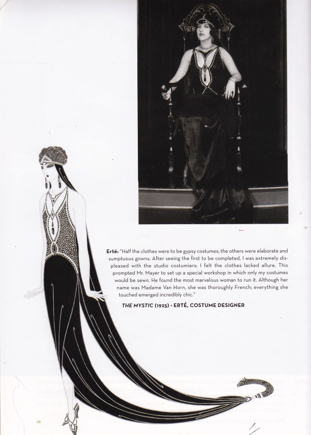 Erte, The Mystic, Dressed by Deborah Nadoolman Landis