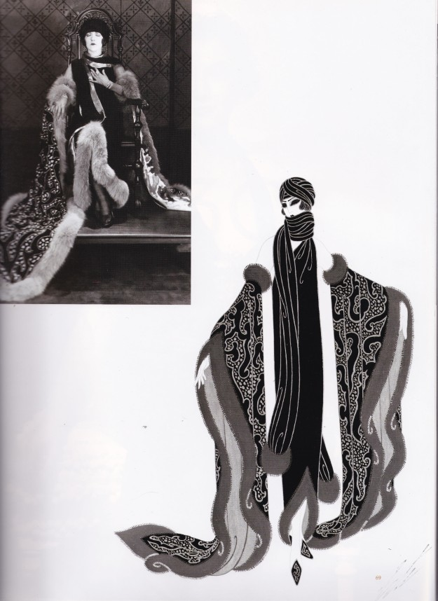 Erte, The Mystic, taken from Dressed Deborah Nadoolman Landis