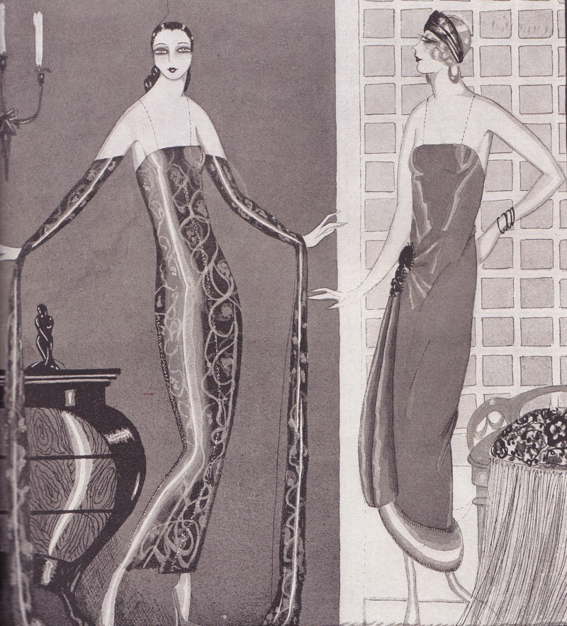 She serpent dress, Sandro Radice, Loris Riccio, 1926