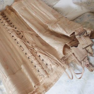 Pink underbust corset, Maison Close, Etsy, Burlesque