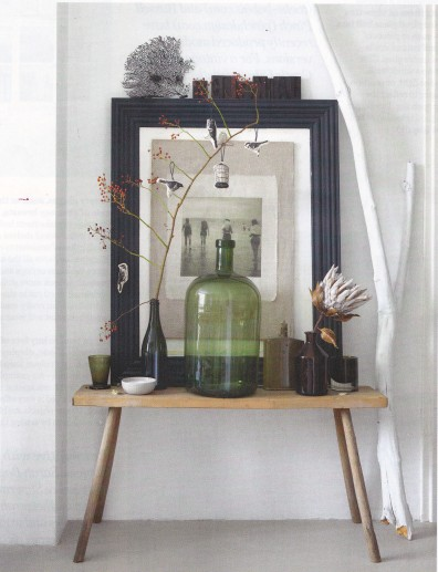 art of display, still life, decorating, collections