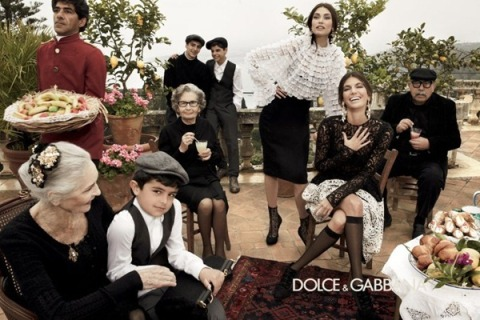 Dolce & Gabbana Autumn Winter 2012 Campaign, Monica Bellucci, Older women