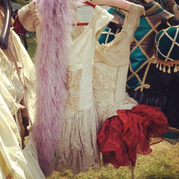 Wilderness Festival, Prangsta, Burlesque costumes