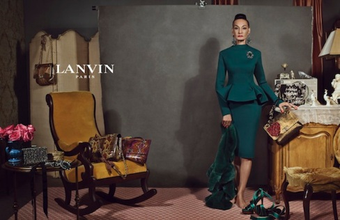 Lanvin, Autumn Winter 2012 Campaign, Older women, real people