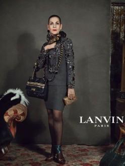 Lanvin, Autumn Winter Campaign 2012, Older women, real people