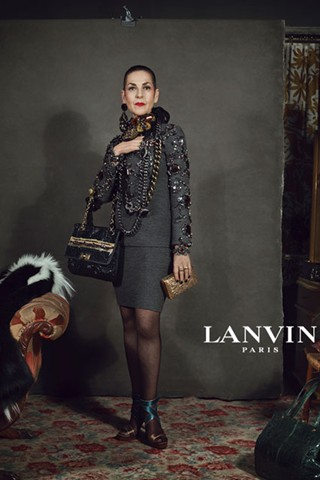 Lanvin, Autumn Winter Campaign 2012, Older women, real people