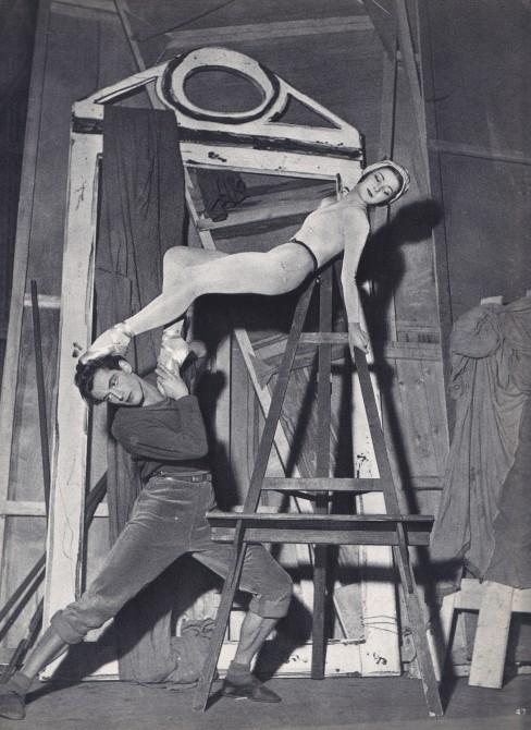 Serge Lido, Annual ballet magazine, photographer, vintage dance photographs