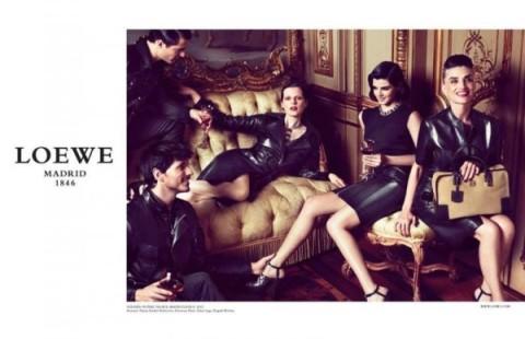 Loewe Fall 2012 Campaign, Older women