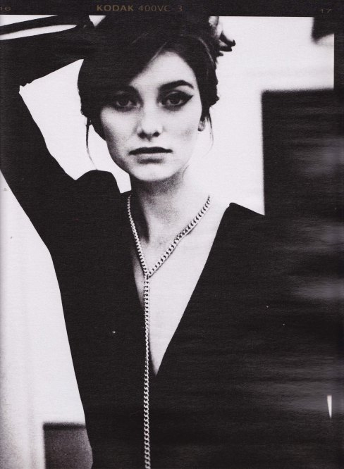 By Malene Birger, Autumn WInter 2012 campaign, black and white photography