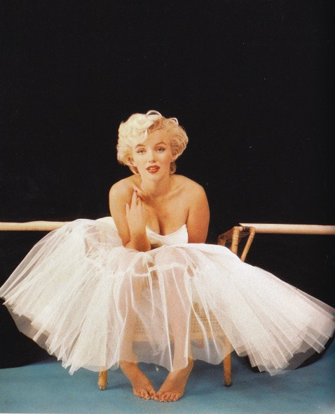Marilyn Monroe, White tulle skirt, Milton Greene