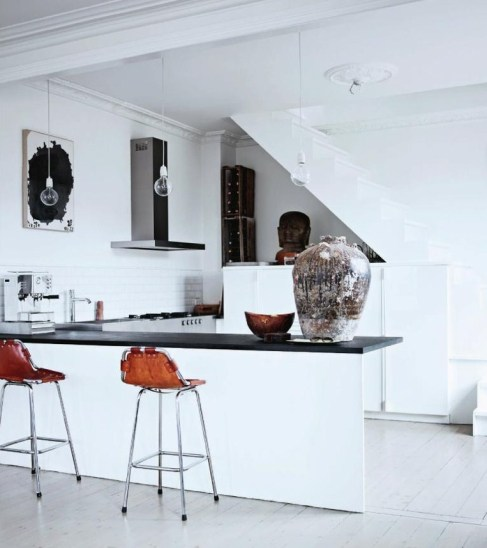 Birgitte Raben Olrik, Raben Saloner, Copenhagen, Elle Decoration, kitchen
