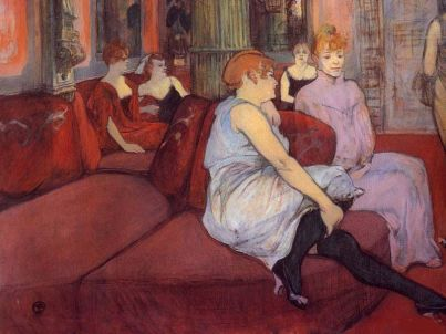 Toulouse Lautrec, Maison Close