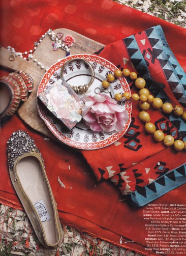Country Living Magazine, Emma Hope shoes, Country cool, accessories