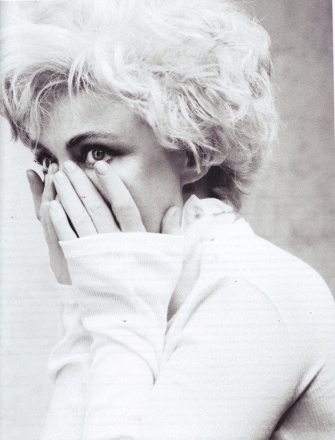 Emmanuelle Beart, Blondie, Marilyn Monroe, Crash Magazine