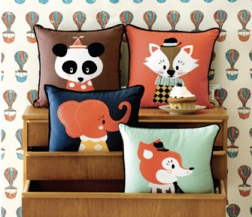Ferm Living, Animal Cushions