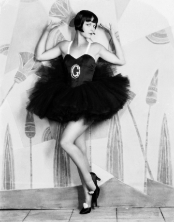 Louise Brooks in tulle