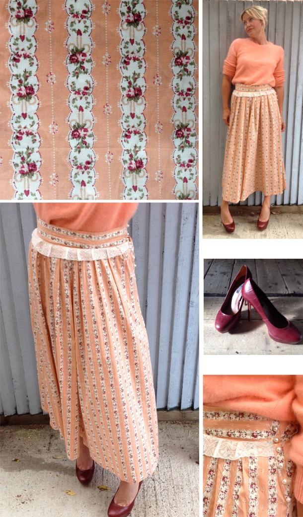 DIY Ulyana Sergeenko Skirt, Carolyn Everitt, crafts, dressmaking, full skirt, folk skirt