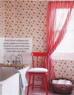 Country Living, Creating your own country home. colour pop, shabby chic