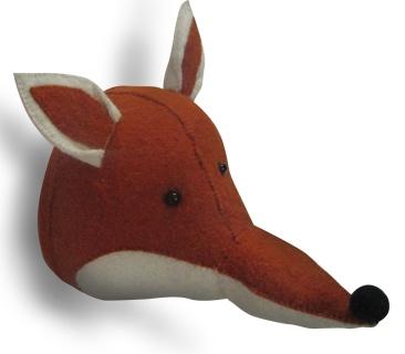 Fox head, taxidermy, bloomsbury store