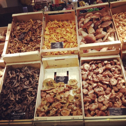 mushrooms at Bon Marche