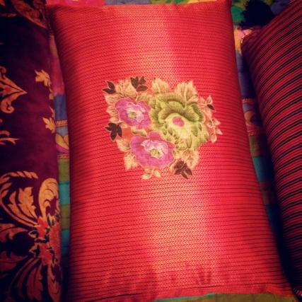 cushions at bon marche