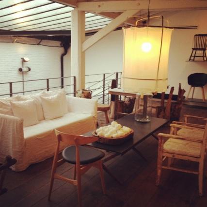 Furniture at Merci, Paris