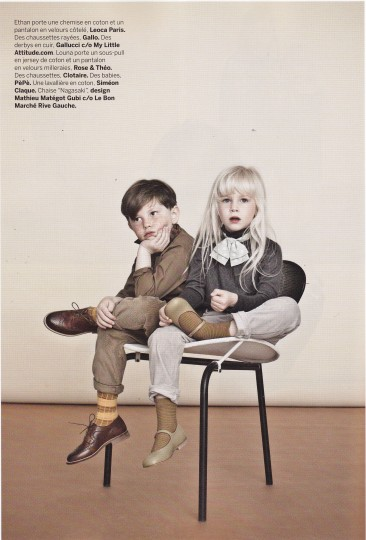 Vintage for children, children's clothes, Milk Magazine