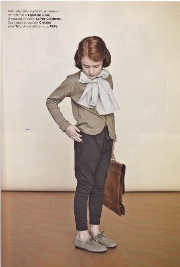 Vintage for children, children's clothes, Milk Magazine