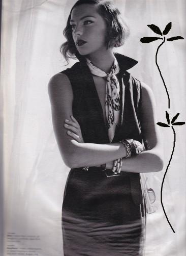 Michael Thompson, Mrs Mulwray style, Chinatown, W magazine