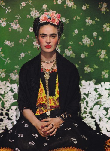 Decades by Cameron Silver, Frida Kahlo by Nickolas Muray
