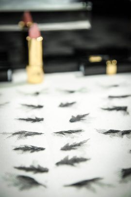 Chanel PreFall 2013, Lashes, Style.com
