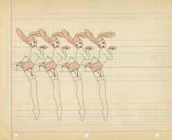 Natalie Krim Bunny Girls, Fashion Illustration