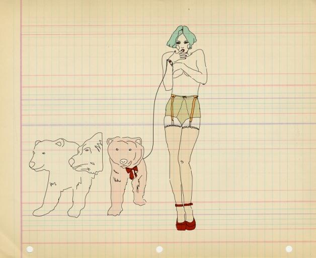 Natalie Krim, dogs
