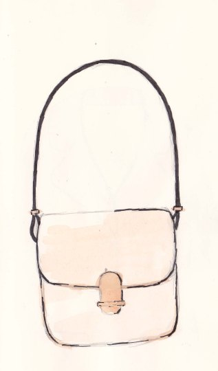 Toast Spring Collection, Fashion Illustration, Ila Satchel