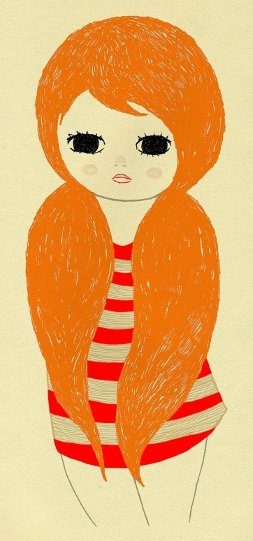 Ginger by Ashley Goldberg