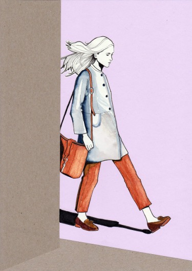 Daphne Van Den Heuvel, Fashion Illustration
