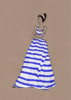 Fashion Illustration, Daphne van den Heuvel