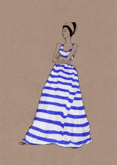Fashion Illustration, Daphne van den Heuvel
