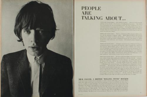 Mick Jagger, Diana Vreeland