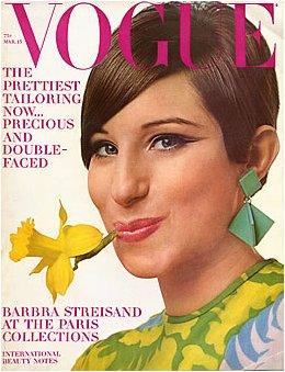 Barbara Steisand, Vogue, Diana Vreeland