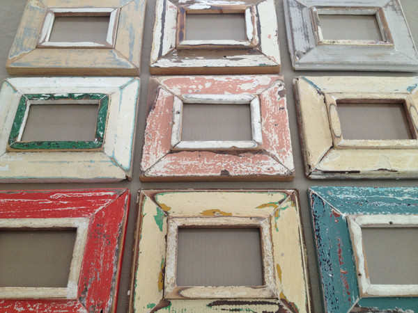 south african products distressed wooden frames country living fair - Distressed Picture Frames